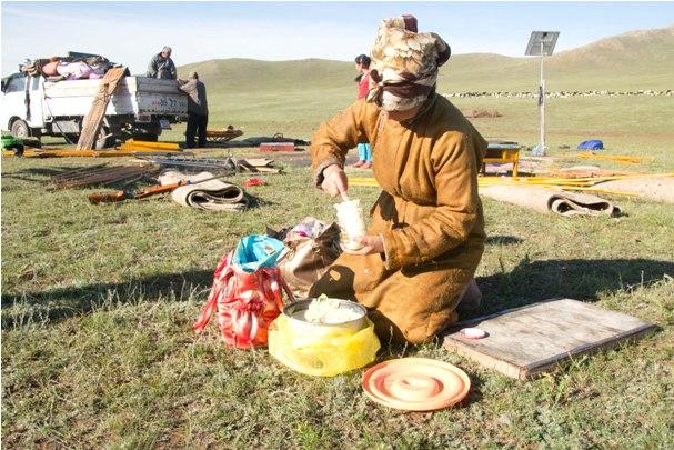 4 45 2 Что есть вегетарианцам в Монголии?