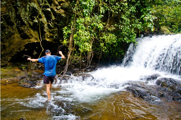 DSC 0138 Лаос: водопады на плато Болавен