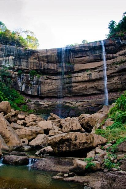 DSC 0313 Лаос: водопады на плато Болавен
