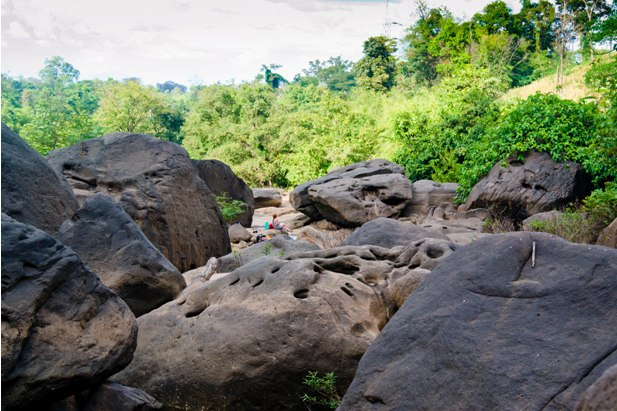 DSC 0314 Лаос: водопады на плато Болавен