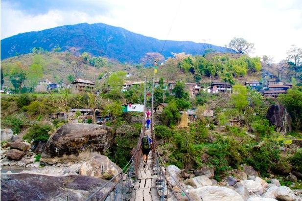 DSC 0016 Месяц на треке в районе Аннапурны (часть 1): Kathmandu   Nadi Bazar   Gagat   Bagarchhap   Timang