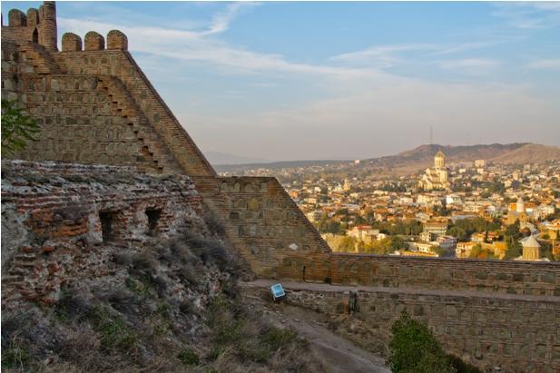 11 Знакомство с Тбилиси: старый город