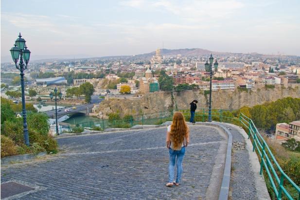 31 Знакомство с Тбилиси: старый город