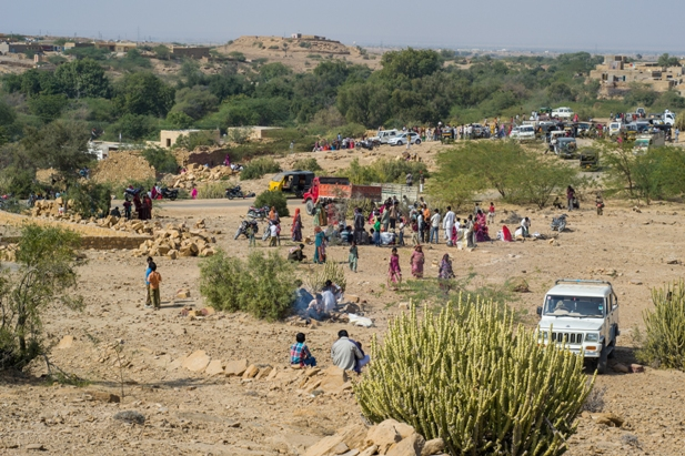 DSC 0485 Полдня в индийской деревне