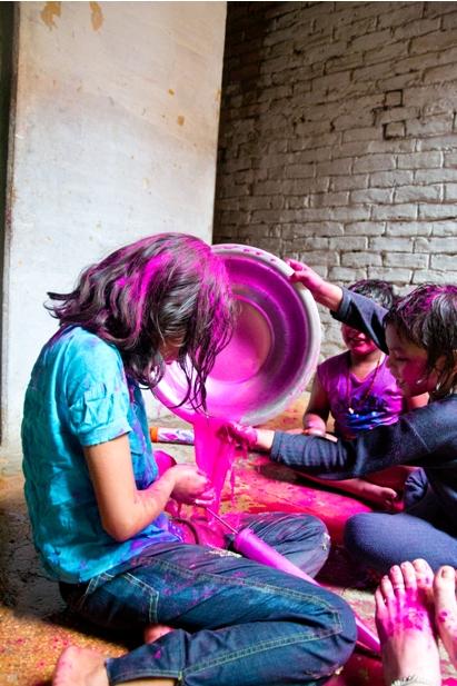 10 174 Холи в Варанаси   праздник красок и весны