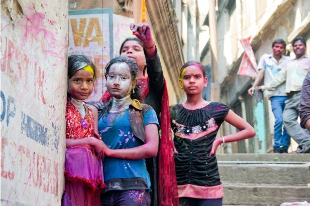 11 108 Холи в Варанаси   праздник красок и весны