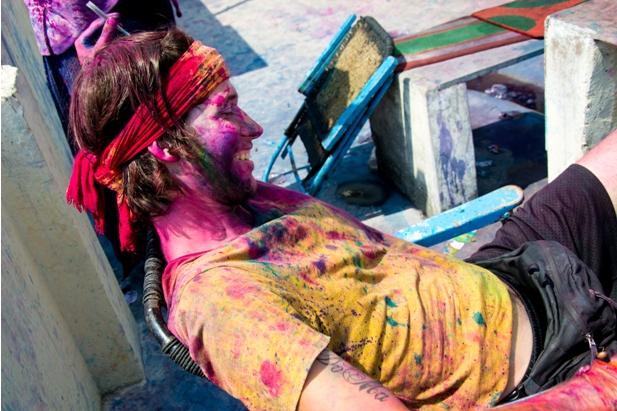 11 185 Холи в Варанаси   праздник красок и весны