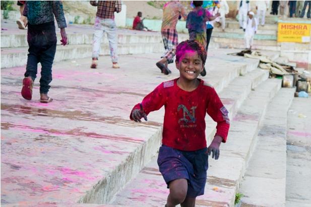 8 152 Холи в Варанаси   праздник красок и весны