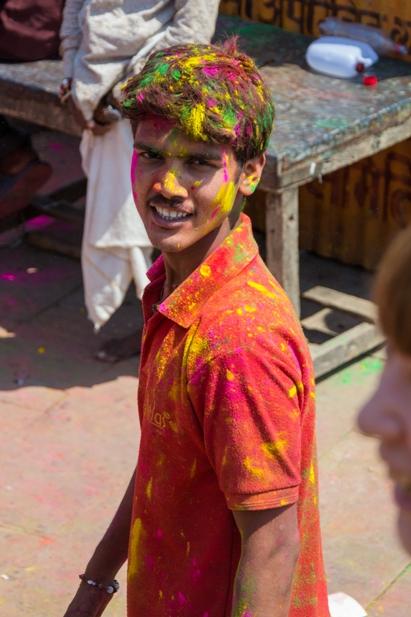 DSC 07451 Холи в Варанаси   праздник красок и весны