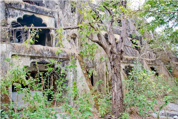 DSC 1480 Заброшенный ашрам Битлз в Ришикеше