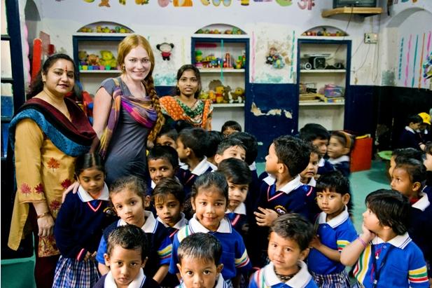 10 102 Как я знакомилась с индийскими школьниками