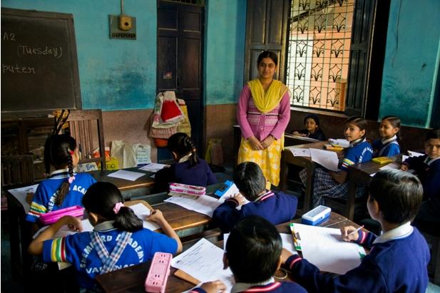 2 120 Как я знакомилась с индийскими школьниками