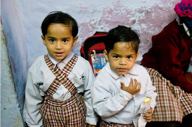 2 143 Как я знакомилась с индийскими школьниками
