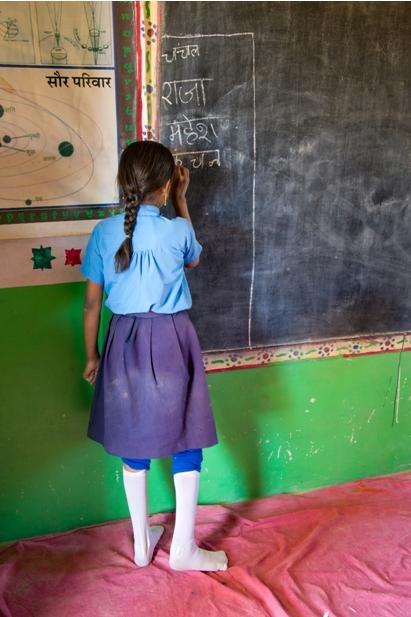 DSC 0898 Как я знакомилась с индийскими школьниками
