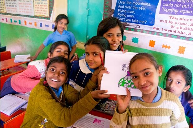 DSC 0905 Как я знакомилась с индийскими школьниками