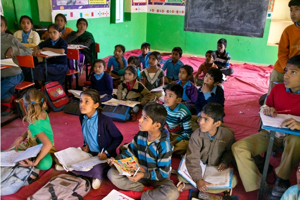 DSC 0931 Как я знакомилась с индийскими школьниками