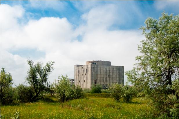 DSC 2630 Казантип, море по колено и шатания по атомному реактору