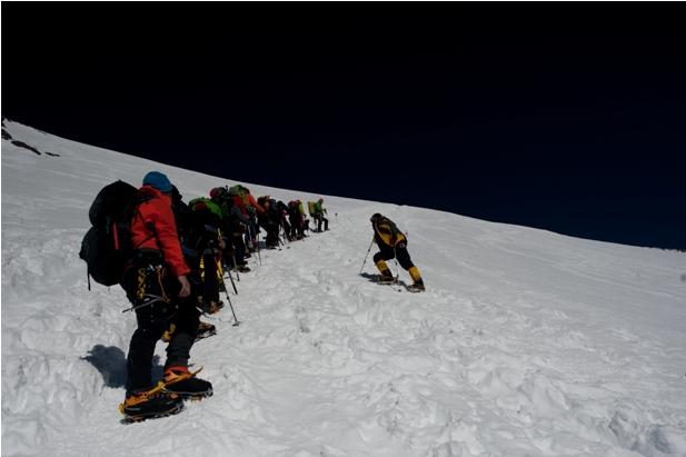 DSC 5625 Восхождение на Эльбрус с юга