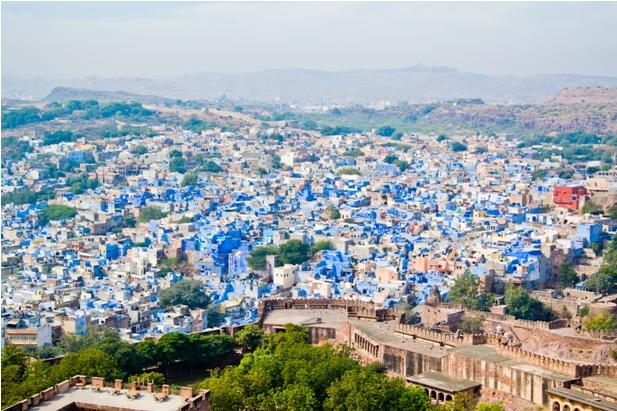DSC 09021 Синие стены старого города