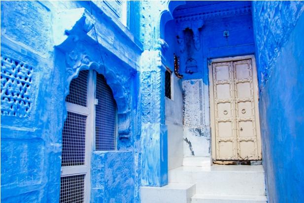 DSC 0952 Синие стены старого города