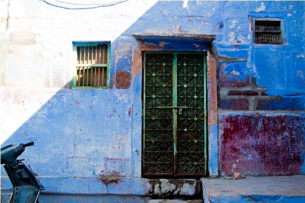DSC 0955 Синие стены старого города
