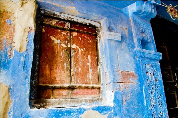 DSC 0956 Синие стены старого города