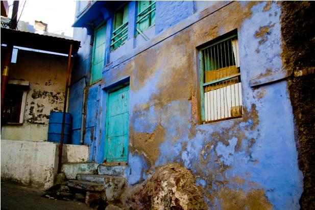 DSC 0959 Синие стены старого города