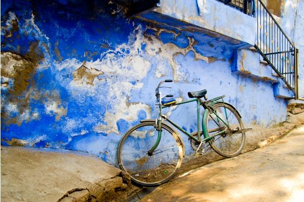 DSC 0960 Синие стены старого города