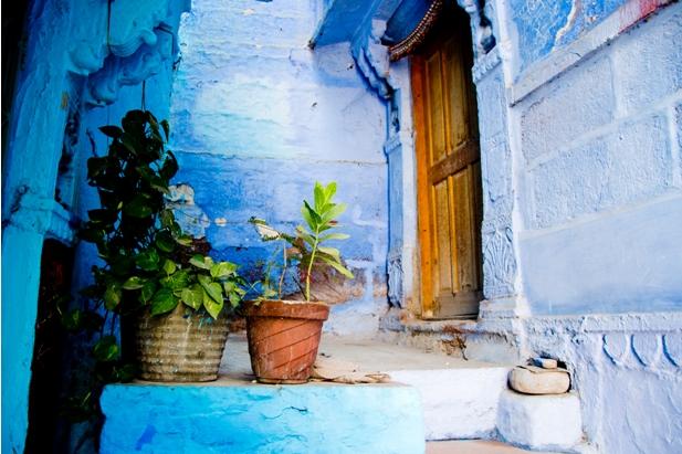 DSC 0964 Синие стены старого города