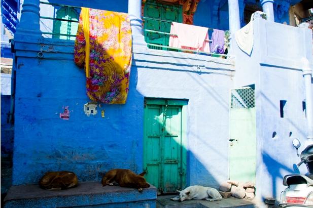 DSC 0971 Синие стены старого города