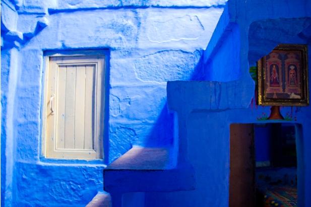 DSC 0973 Синие стены старого города