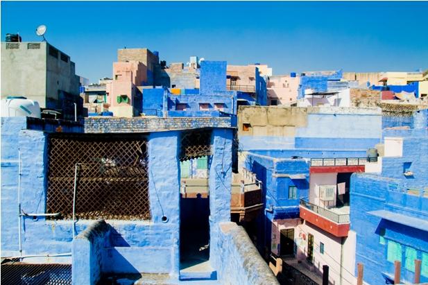 DSC 0977 Синие стены старого города