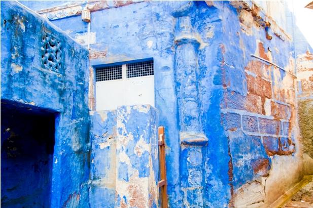 DSC 0985 Синие стены старого города