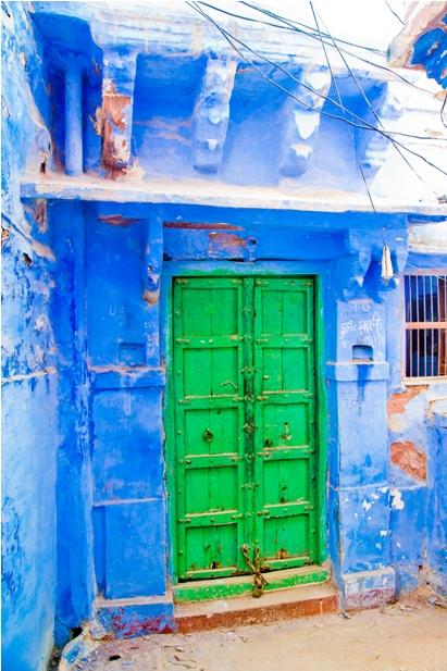 DSC 0991 Синие стены старого города