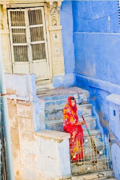DSC 0998 Синие стены старого города