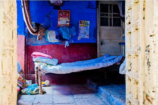 DSC 0999 Синие стены старого города