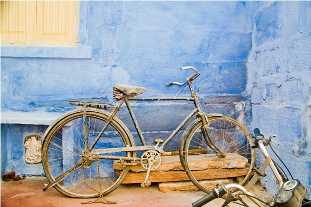 DSC 1001 Синие стены старого города