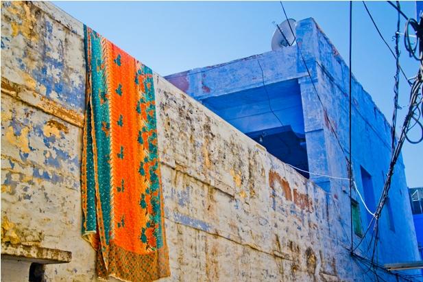 DSC 1003 Синие стены старого города