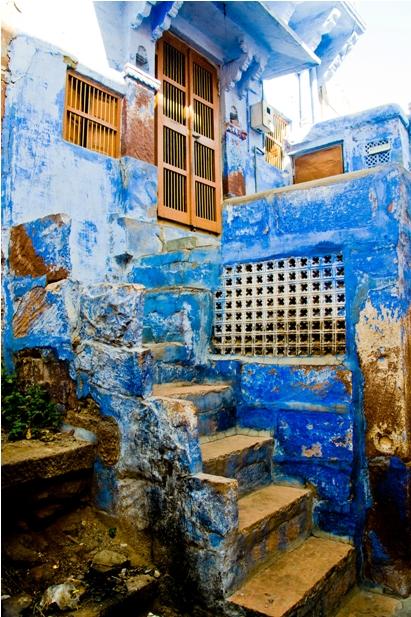 DSC 1005 Синие стены старого города
