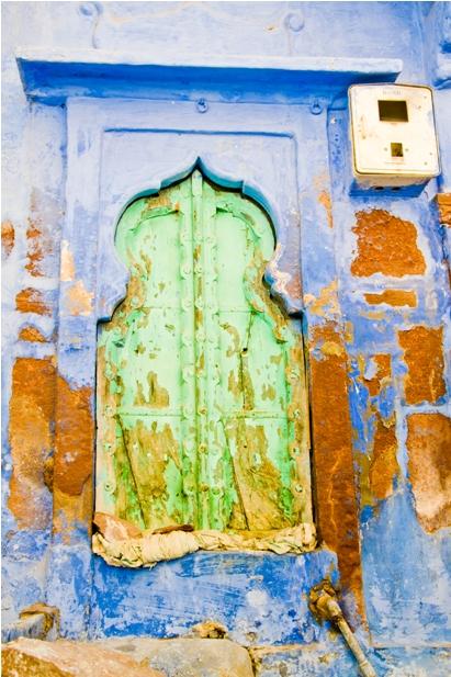 DSC 1009 Синие стены старого города