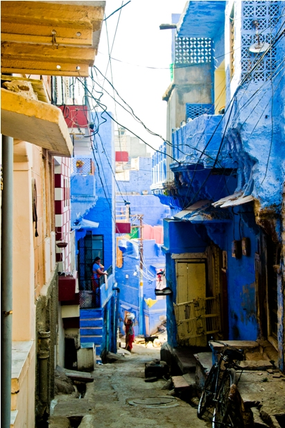 DSC 1013 Синие стены старого города