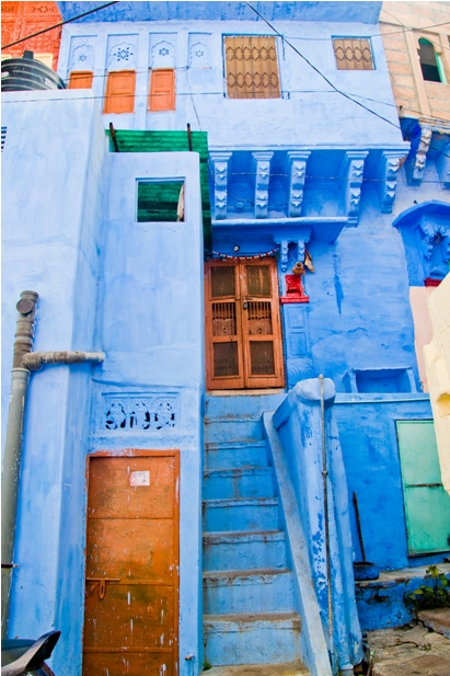 DSC 1015 Синие стены старого города