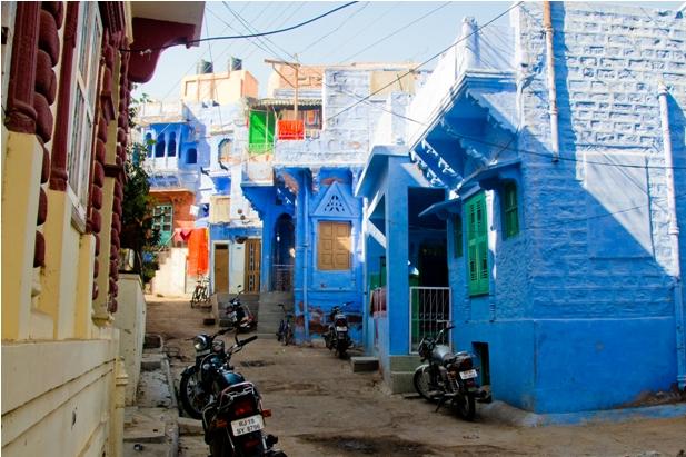 DSC 1022 Синие стены старого города