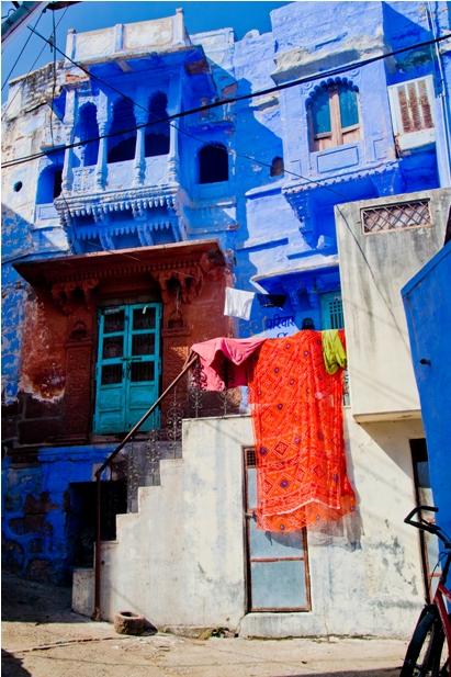 DSC 1023 Синие стены старого города