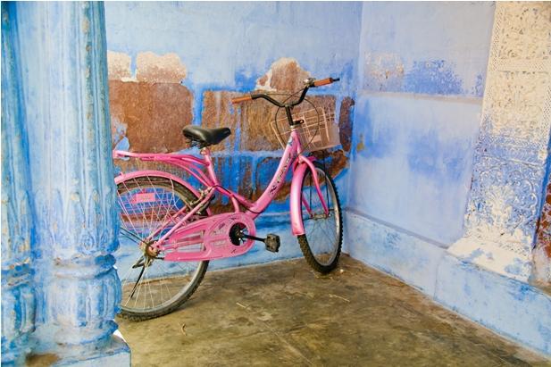DSC 1025 Синие стены старого города