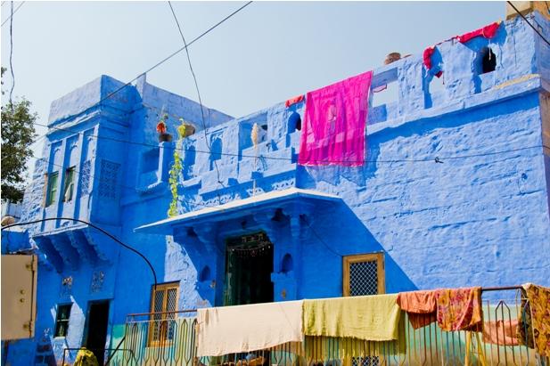DSC 1028 Синие стены старого города