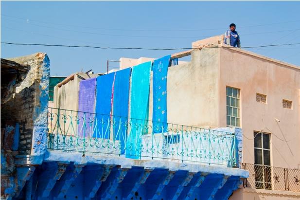 DSC 1030 Синие стены старого города