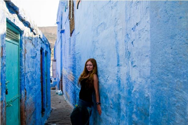 DSC 1039 Синие стены старого города