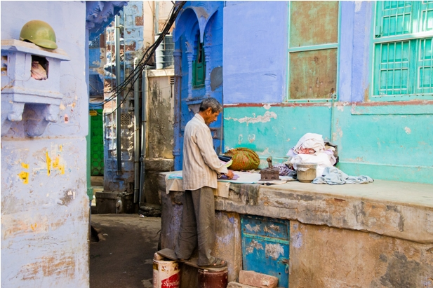 DSC 1040 Синие стены старого города