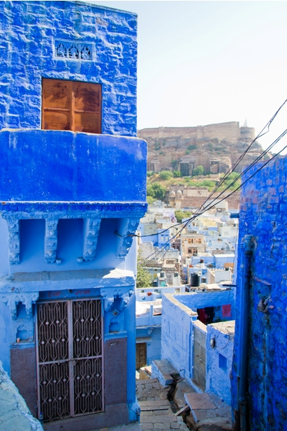 DSC 1042 Синие стены старого города